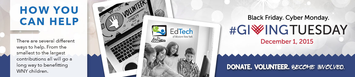 Ed Tech of WNY GivingTuesday