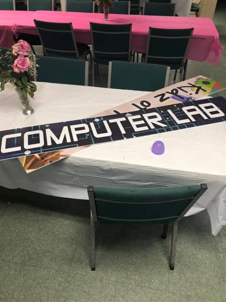Prince of Peace now has a computer lab!