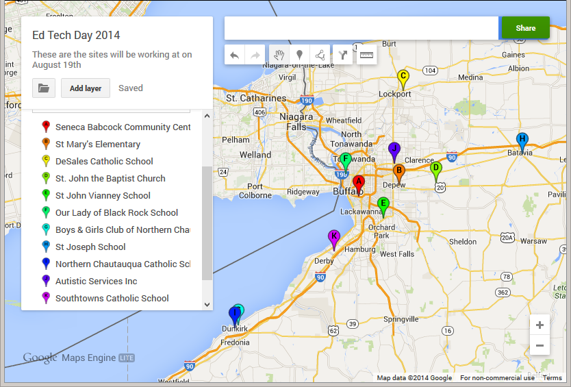 Ed Tech 2014 Sites